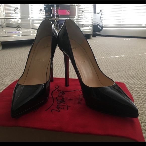 83aaa2cf7683 Christian Louboutin Shoes - CHRISTIAN LOUBOUTIN Pigalle Plato 120 Patent  Calf